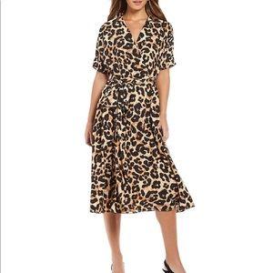 Eliza J Animal Print Dress